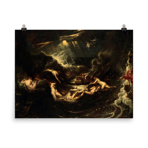 Peter Paul Rubens - Hero and Leander - painting