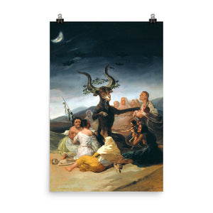 Francisco Goya - Witches' Sabbath - painting
