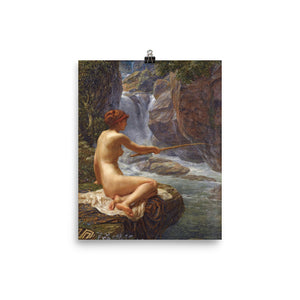 Edward Poynter - A nymph of the creek