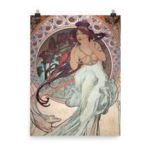 Load image into Gallery viewer, Alphonse Mucha - The Arts - Music