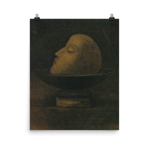 Odilon Redon - Head of a martyr