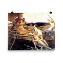 Load image into Gallery viewer, Herbert James Draper - Ulysses and the Sirens