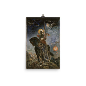 Gustave Moreau - The Park and the Angel of Death