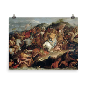 Charles Le Brun - Battle of the Granicus