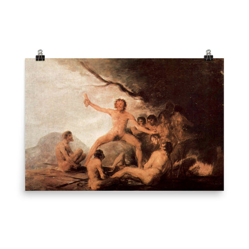 Francisco Goya - Cannibals