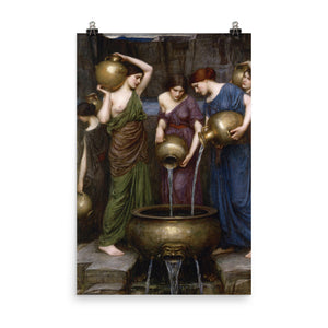 John William Waterhouse - The Danaides - painting