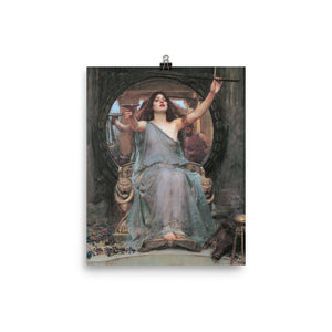 John William Waterhouse - Circe Offering the Cup to Ulysses - painting