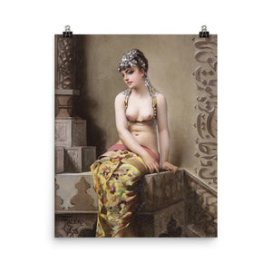 Luis Falero - The Enchantress - Egyptian Dancing Girl