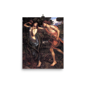 John William Waterhouse - Apollo and Daphne