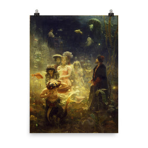 Ilya Repin - Sadko in the Underwater Kingdom