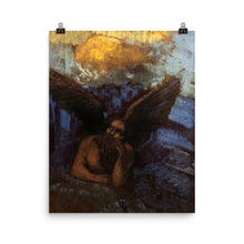 Load image into Gallery viewer, Odilon Redon - Winged Sphinx leaning on a rock