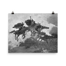 Load image into Gallery viewer, John Charles Dollman - The Ride of the Valkyrs