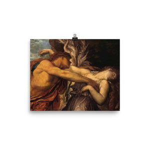 George Frederic Watts - Orpheus And Eurydice