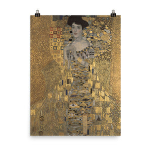 Gustav Klimt - Portrait of Adele Bloch-Bauer I - painting