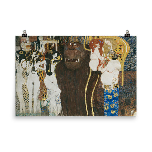 Gustav Klimt - Beethoven Frieze