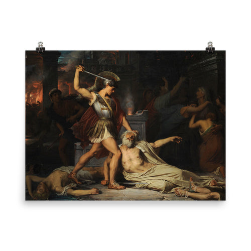 Jules Lefebvre - The Death of Priam
