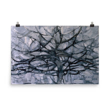 Load image into Gallery viewer, Piet Mondrian - The Gray Tree