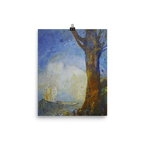 Odilon Redon - The Bark