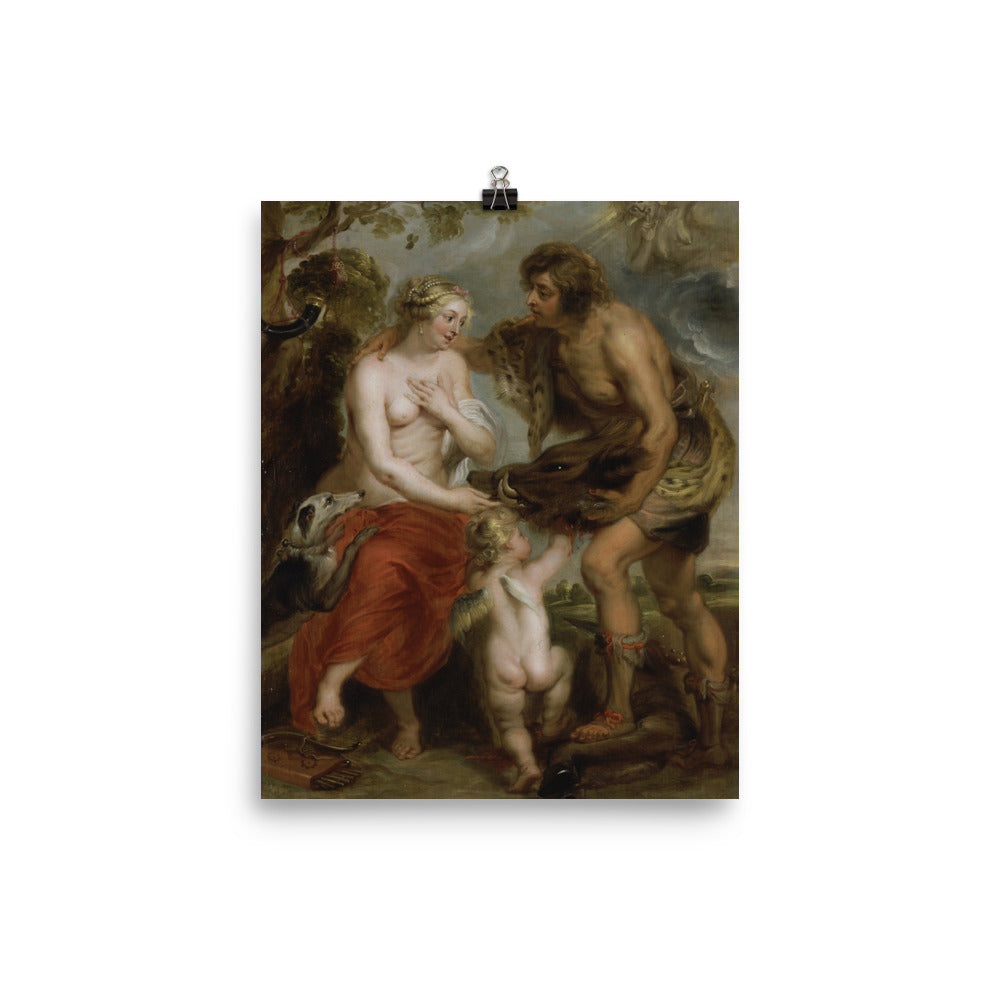 Peter Paul Rubens (studio of) - Meleager and Atalanta