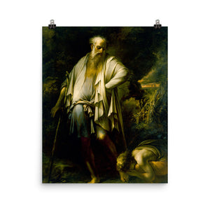 Salvator Rosa - Diogenes Casting Away His Cup
