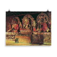 Load image into Gallery viewer, Vasily Vereshchagin - Three main deities in the Buddhist monastery Chingacheling in Sikkim