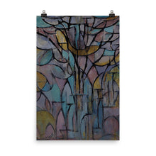 Load image into Gallery viewer, Piet Mondrian - Trees - nature wall art vintage landscape