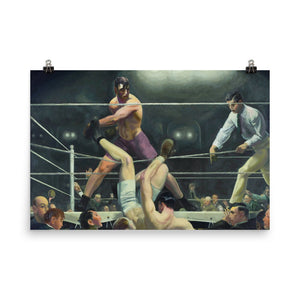 George Bellows - Dempsey and Firpo