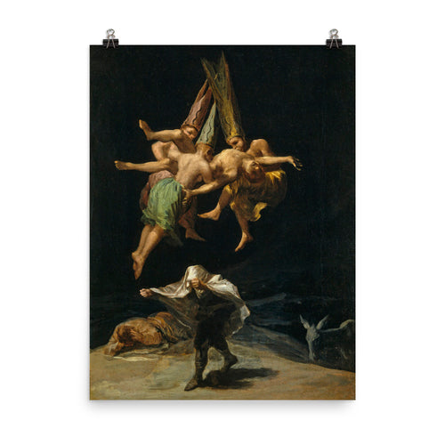 Francisco Goya - Witches' Flight