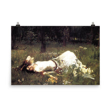 Load image into Gallery viewer, John WIlliam Waterhouse - Ophelia Resting - painting
