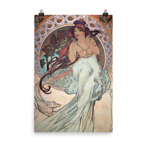 Alphonse Mucha - The Arts - Music