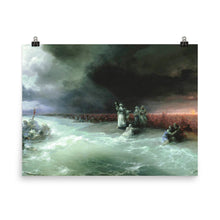 Load image into Gallery viewer, Ivan Aivazovsky - Passage of the Jews through the Red Sea