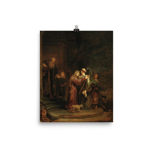 Rembrandt Harmensz van Rijn - The Visitation