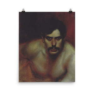 Franz Stuck - Male Portrait Study (A Bad Conscience).jpeg