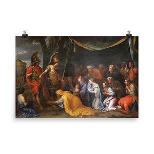 Charles Le Brun - The Queens of Persia at the feet of Alexander, also called The Tent of Darius