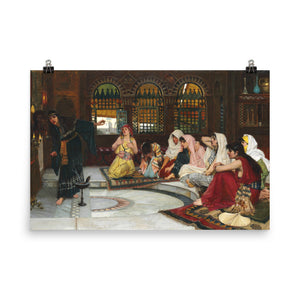 John William Waterhouse - Consulting the Oracle - painting