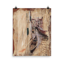 Load image into Gallery viewer, Giovanni Boldini - View into a Venetian canal