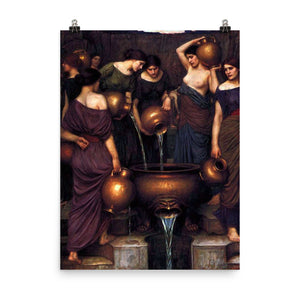 John William Waterhouse - The Danaides Group
