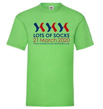 Load image into Gallery viewer, Lots of Socks t-shirt - Mens