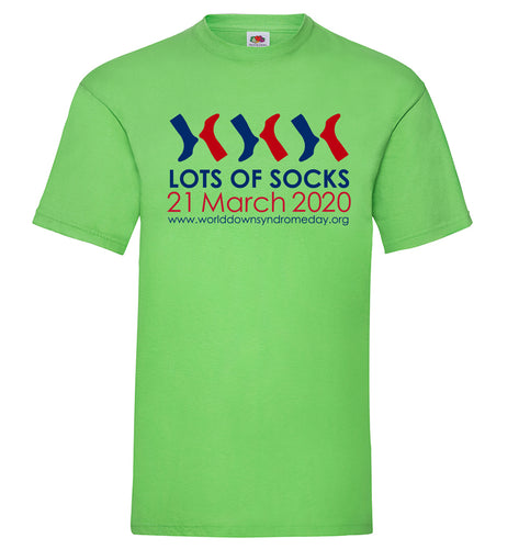 Lots of Socks t-shirt - Mens