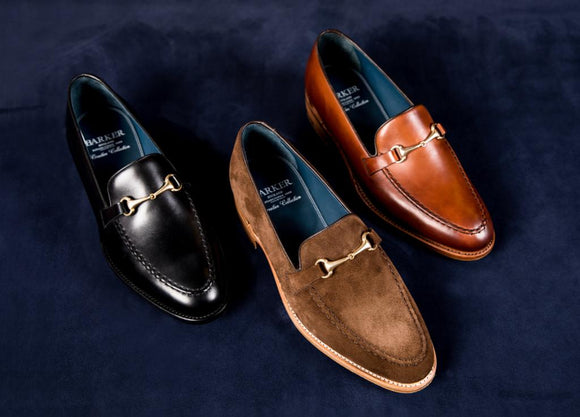 Loafer shoes by Barker.