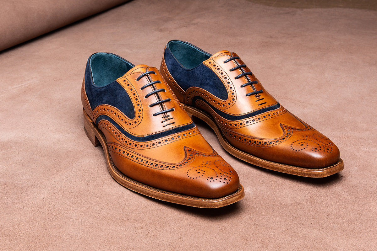 McClean - Men's handmade leather shoe by Barker