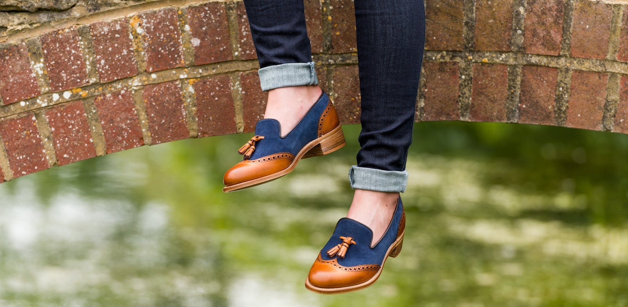 Amber loafer shoes by Barker.