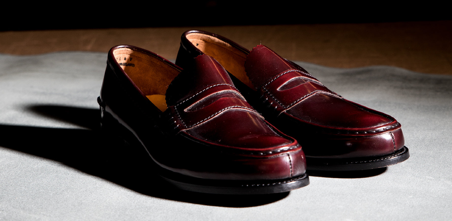 Caruso - Men's Handmade Penny Loafer By Barker
