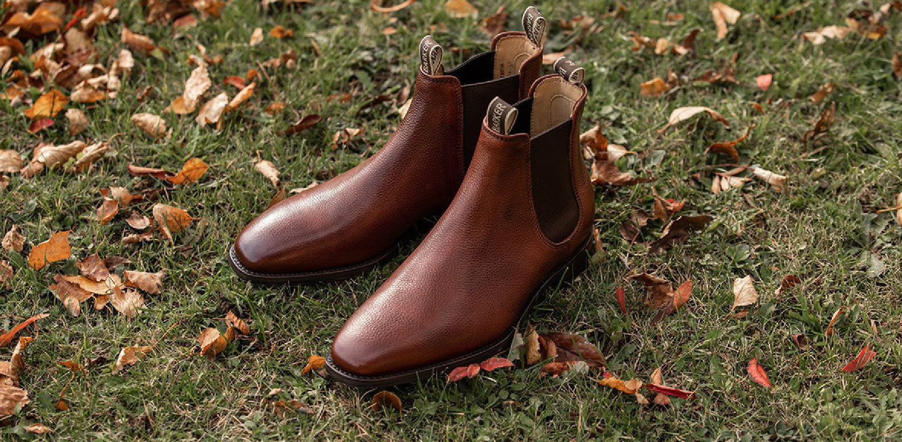 Mansfield - Men's Leather Chelsea Boot By Barker