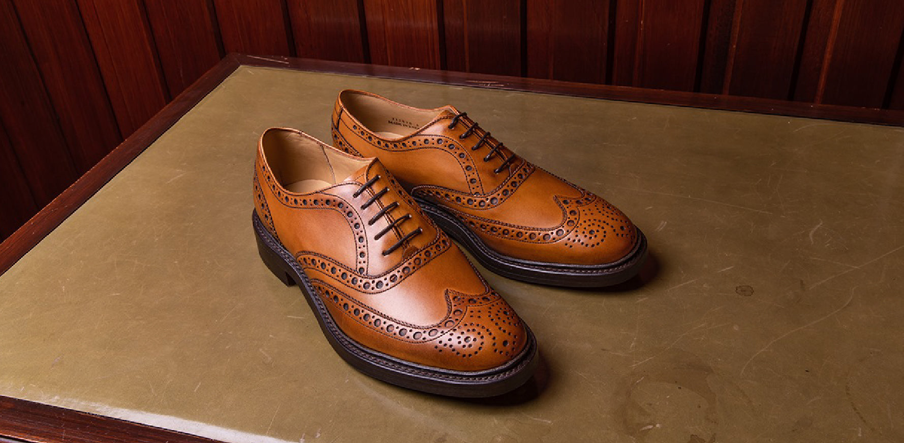 Westfield - Men's Leather Brogues By Barker