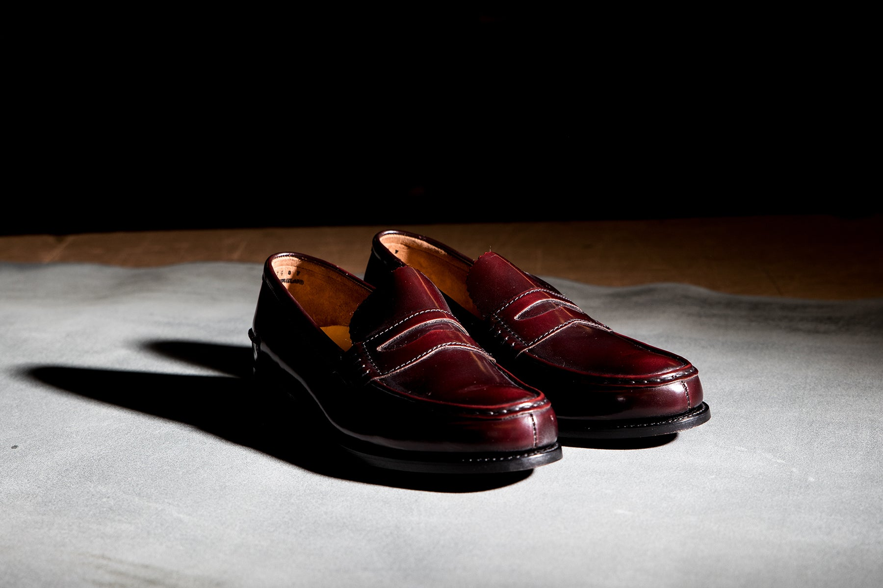 Caruso - Men's Penny Loafer by Barker