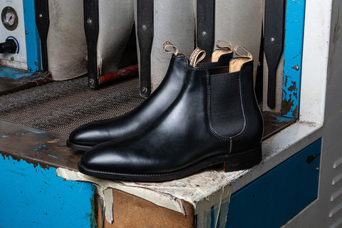 Mansfield - Black Chelsea Boots For Men