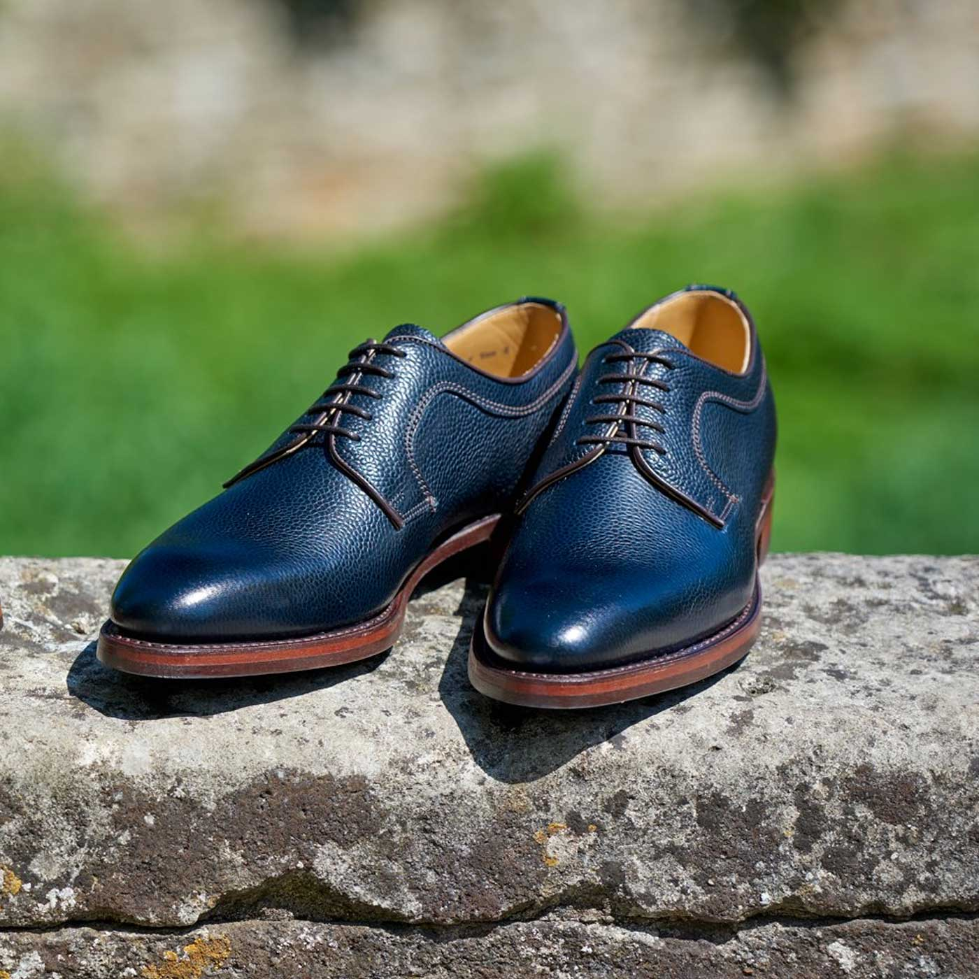 Skye - Men's handmade derby shoe by Barker
