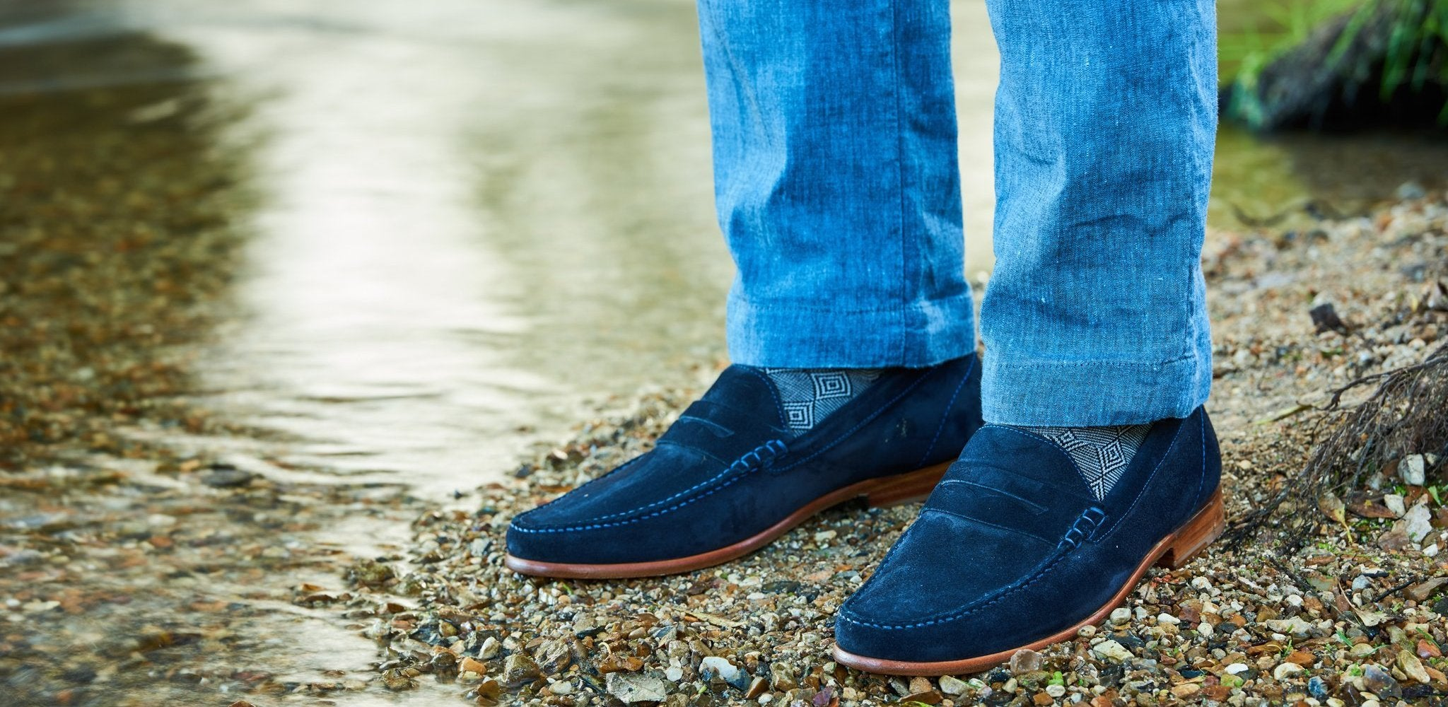 William Loafer shoes by Barker