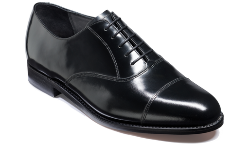 Cornhill - Black Hi-Shine - Barker Shoes Rest of World